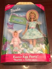 1999 Mattel Barbie & Kelly Easter Egg Party RARE COLLECTOR SET NIB #25790