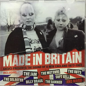 MOJO PRESENTS - Made In Britain VARIOUS ARTISTS C.D