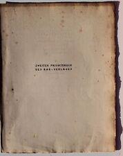 23902 Fred Antoine Angermayer TIEFBLICK 2 Privatdrucke RAR VERLAG DRESDEN 1922