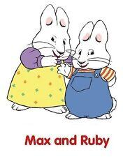 Max & Ruby #12 Iron on transfer 5x7 Cartoon