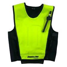 New listing Snorkel Pro Cruiser Snorkeling Skin Vest Snorkel Medium M Yellow Black Neoprene