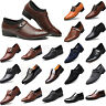 Men Formal Oxfords Business Dress Shoes Pointed Toe Slip On Office Party Wedding
