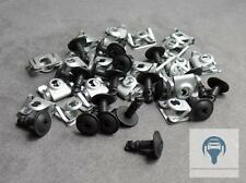 Kit Unterfarschutz Protection Du Moteur de Réparation Clips Vis pour BMW E39 E38