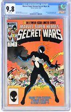 E192. MARVEL SUPER-HEROES SECRET WARS #8 CGC 9.8 NM/MT Origin of VENOM Symbiote