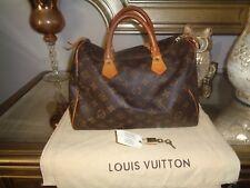 Louis Vuitton handbag Monogram Speedy 30 Authentic VIntage TH0968 Lockset