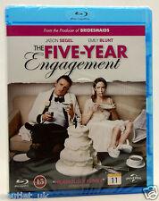 Cinco Year Engagement Blu-Ray Región B Nuevo Sellado Romántica Comedia Jason
