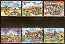 Mint Disney Grenadines of St. vincent cartoons stamps (Mnh)