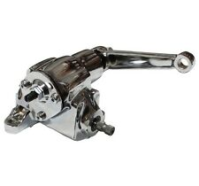 Chrome GM Universal Saginaw Vega Manual Power Steering Gearbox Hot Rat Rod