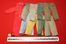 ORIGINAL VINTAGE ACTION MAN DAMAGED OVERALLS AND TROUSERS CB34796