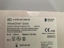 WaveOne Wave one Gold Dentsply Maillefer 25mm Medium 35.06