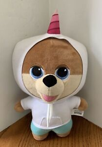 "Jiffpom Cutelife Unicorn Hoodie Big Head Teddy Bear 13"" Soft Plush Stuffed"