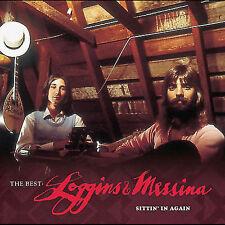 THE BEST: LOGGINS & MESSINA SITTIN' IN AGAIN CD  BRAND NEW SEALED