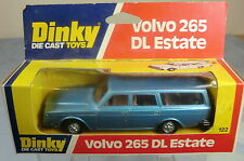 DINKY TOYS MODEL  No.122 VOLVO  265 DL ESTATE CAR   (CAST HUBS)  MIB