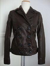 Superdry Leather Jacket señora chaqueta de cuero japón Spirit Biker style talla s nuevo + denominaremos