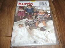 BURDA Schnittmuster 3890     7teilige   PUPPENKLEID-KOMBINATION