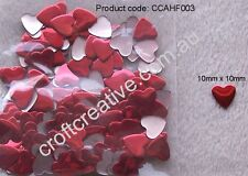 IRON ON HOT FIX RED HEART NAILHEAD (CCAHF003) - 10 GRAMS (APPROX. 200)