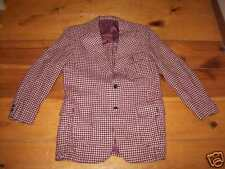 Cricketeer Houndstooth vintage Jacket Indie Emo S or M Ed V's Springfield MO