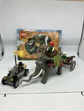 LEGO - ADVENTURERS - ORIENT EXPEDITION : SET 7414 : ELEPHANT CARAVAN
