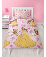 Disney Princess Belle Duvet Cover Set, Microfibre, Pink, Single