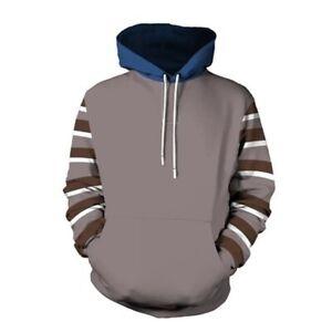 3D Hoodie Cosplay Pullover Jacket Ticci Toby Cosplay Creepypasta Long Sleeve