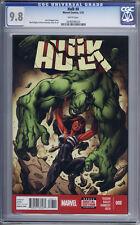 Hulk #8   1st print   Red She-Hulk   CGC 9.8