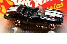Hot Wheels Classics Series 2 #1 1970 Chevelle Convertible Dark Blue