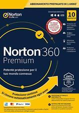 Norton 360 Premium 2020 10 dispositivi 10 PC MAC 75 GB Internet Security 2020