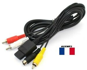 Cable S VIDEO POUR SUPER NES 1M80  ENVOI EN SUIVIE RAPIDE  VENDEUR pro