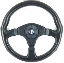 Genuine Momo 360mm leather steering wheel. Alfa Romeo SZ, Alfetta Spider etc  9C