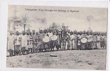 K 786-Dwa, tikargebiet: King chunga con séquito en ngambe, ungelaufen