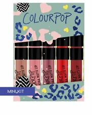 ❤ Colourpop Ultra Matte mini Lipstick Set in The Good Times ❤
