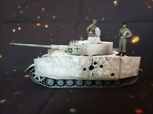 1:32 Scale Built German Panzer IV Winter Eastern Front