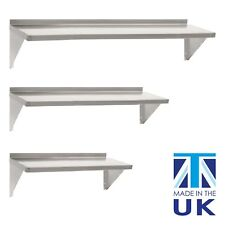 Displaypro Stainless Steel Shelves, Commercial Kitchen Clean Room Wall Shelf