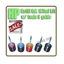 HP 60 61 74/75 92/93 94/95 96/97/98 Couleur Noir d'encre Kit de recharge 150ml