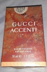 GUCCI ACCENTI Perfume For Women 1.7 oz- 50 mil Eau De Toilet new in box