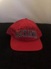 Chicago Blackhawks Starter Vintage 1980s 100% Wool Snapback Hat
