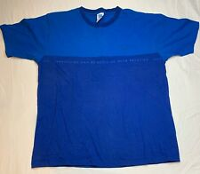 High Q Athens AOHNA Large T Shirt 2004 Olympics Blue