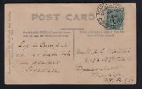 Canada 1911 Goderich Camp Field Post Office Medical Corps Real Photo Postcard