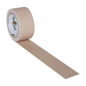 Beige Tan Duck brand Duct Tape 1.88 inch x 20 yds
