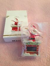 "HALLMARK KEEPSAKE ORNAMENT ""COUNTDOWN TO CHRISTMAS"" 2011 NIB"