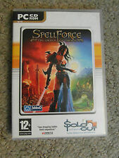 PC CD-ROM GAME:  SPELL FORCE - THE ORDER OF DAWN - Age 12+ - 2 DISCS