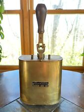 Antique Carlisle & Finch Brass Power Gear Shift Box For Boat Train Spotlight?
