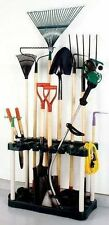 new Yard & Garden Tool Rectangular Garage Shed Organizing Storage Plastic Rack