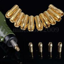 10Pcs Brass Drill Chucks Collet Bits 0.5-3.2mm 5mm Shank for Rotary Tool