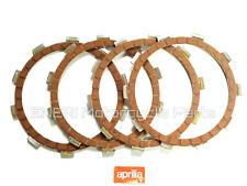 GENUINE APRILIA RS50 2T 93-10 RX50 02-04 LINED CLUTCH PLATE SET (4) AP8206322