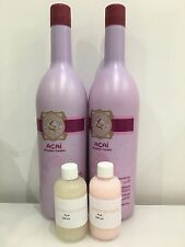 Eternity Liss Acai Brazilian Keratin hair straightening treatment blow dry 200ml