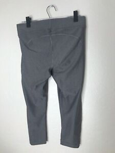 Women's Under Armour Yoga Athletic Pants Size Large (L) Gray - Polyester