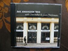 CD AKE JOHANSSON TRIO With Chet Baker & Toots Thielemans - Chet & Toots  (1998)