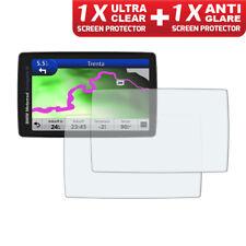 BMW Navigator VI Nav 6 GPS Screen Protectors: 1 x Ultra Clear & 1 x Anti Glare