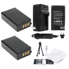 EN-EL20 EN-EL20 Battery x2 + Charger for Nikon 1J1